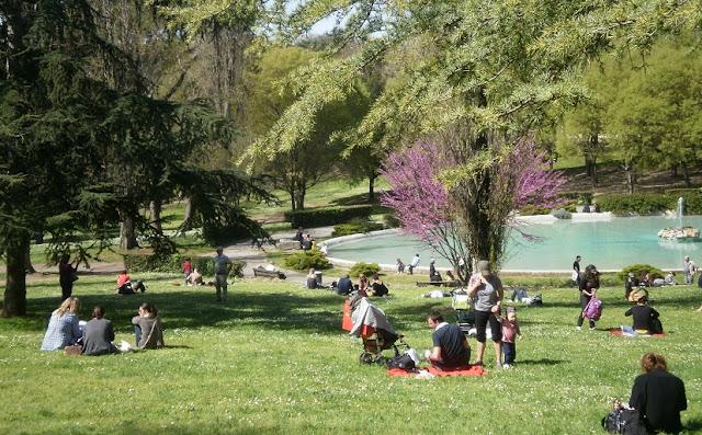 Informações sobre o Jardins da Villa Borghese em Roma