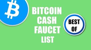 Situs Faucet Penghasil Bitcoin Cash (BCH) Gratis