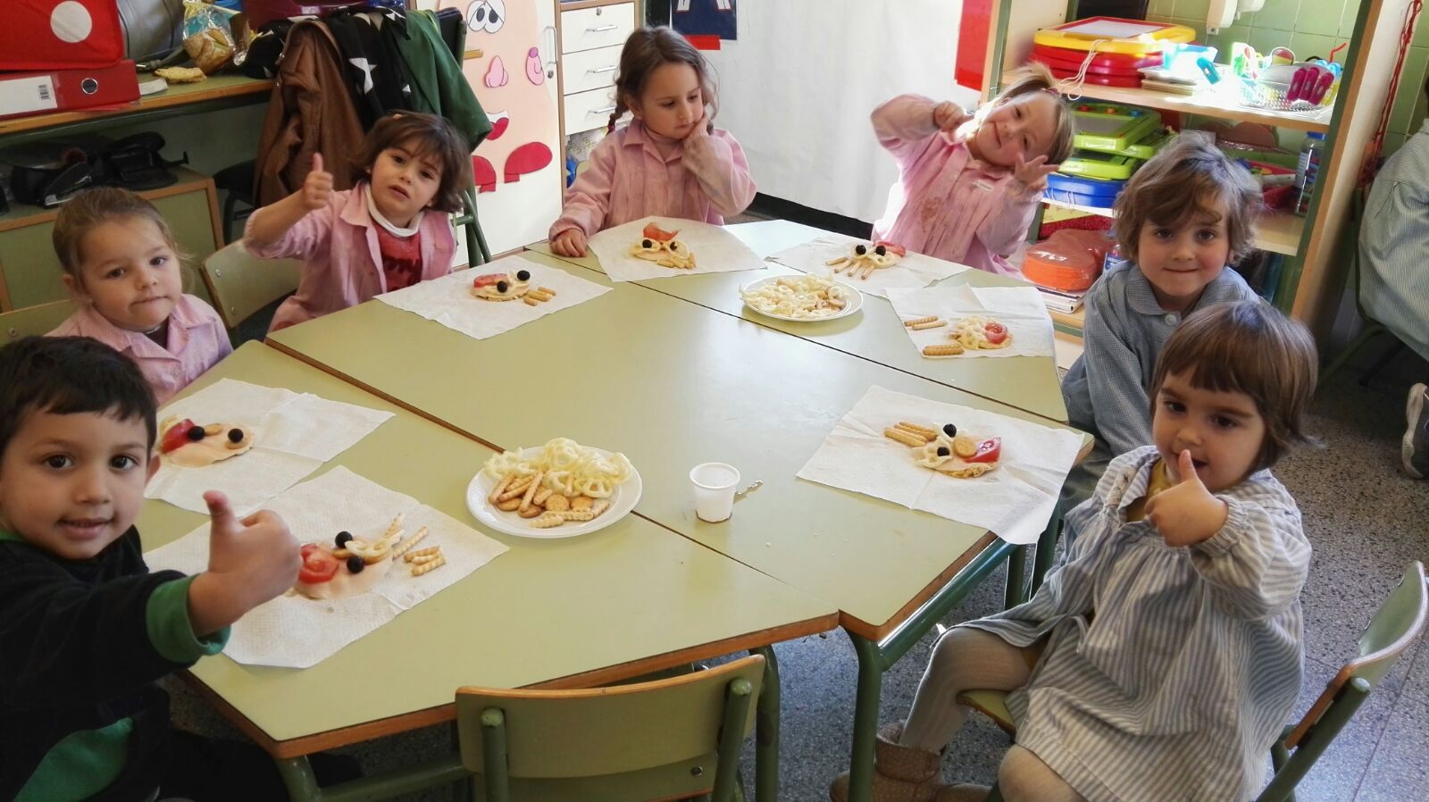 La voz del reyes taller de cocina infantil 3 a os - Talleres de cocina infantil ...
