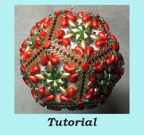 Christmas Ornament Tutorials by Beaded Patterns - The ...