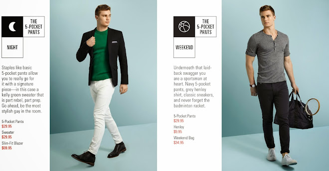 H&M and GQ Collaborative Tags Campaign
