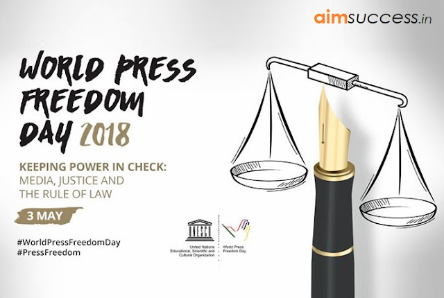 'World Press Freedom Day' being observed today004 May 2018 - Daily Current Affairs
