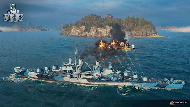 تنزيل لعبة السفن الحربية World Of Warships للكمبيوتر والاندرويد والايفون