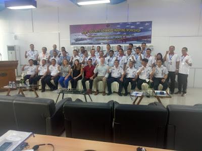 US Coast Guard Latih Auditor Perwira Keamanan Pelabuhan di Indonesia