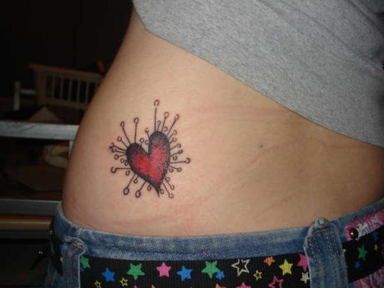 Cute Heart Tattoo Designs: Cute Heart Tattoos For Girls