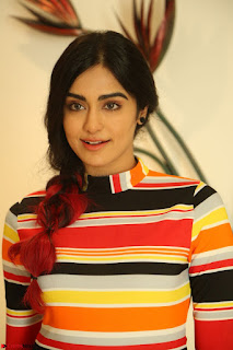 Adha Sharma in a Cute Colorful Jumpsuit Styled By Manasi Aggarwal Promoting movie Commando 2 (94).JPG
