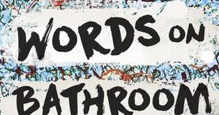 Door Stop Novels Young Adult Fiction Words On Bathroom