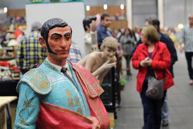 La feria de antigüedades de BEC! bate récords con 140 expositores y más de 60.000 objetos