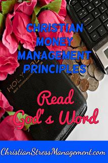 Christian money management Read God's Word