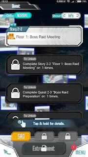 Sword Art Online: Memory Defrag apk