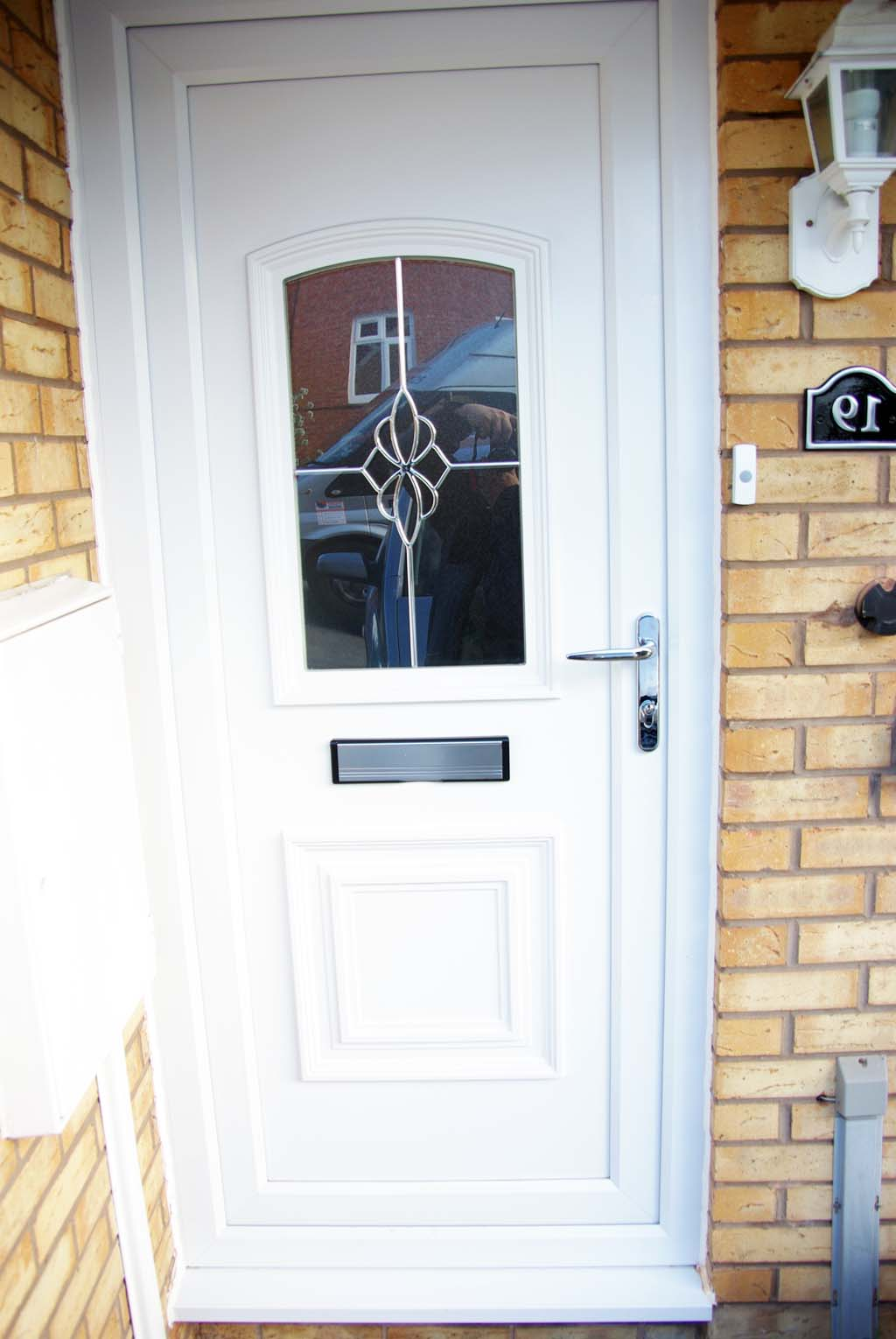 Upvc front doors installation is that a good idea for Front door installation