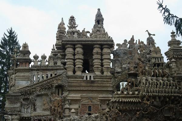 drôme hauterives palais idéal facteur cheval façade nord