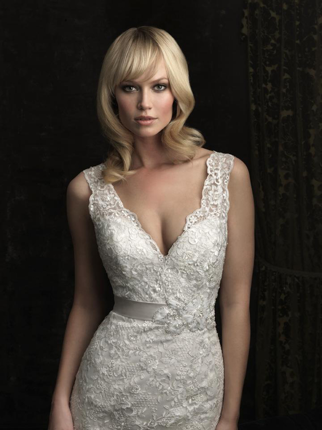 Allure Bridals Fall 2012 Collection + My Dress of the Week - Belle ...
