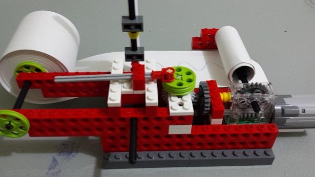 Aula Robótica Dominicana: Onda Sinusoidal con Lego