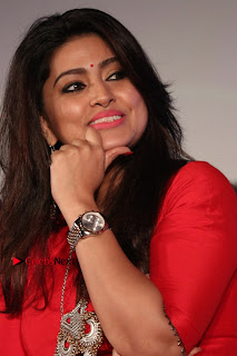 Actress Sneha Latest Stills in Red Dress at Simba Audio Launch  0007.jpg