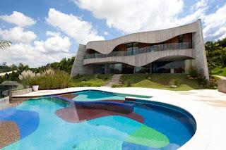 Casa en Sao Paulo de Ruy Ohtake