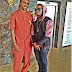 PHOTOS: Honored To Meet You Sir - Skales, As He Poses With Football Legend, Kanu Nwankwo In Abuja