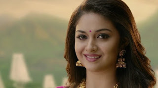 Keerthy Suresh in Saree for AVR Jewellers Ad Images