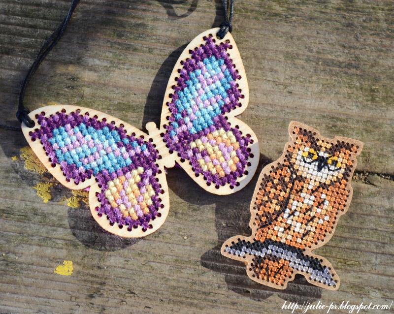 CrossStitcher №282 август 2014, подвеска бабочка, вышивка крестом, вышивка по дереву, Angela Poole, Дивная вишня, сова, брошь