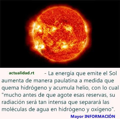 El Sol destruirá la Tierra mucho antes de lo que se creía