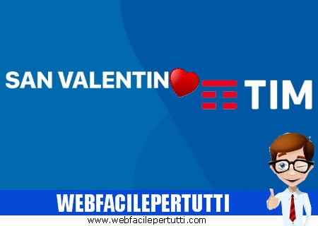 TIM Party regala un mese di minuti illimitati per San Valentino
