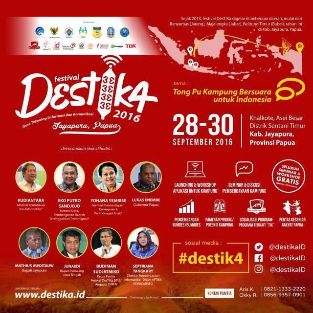 DesTIK4 Papua