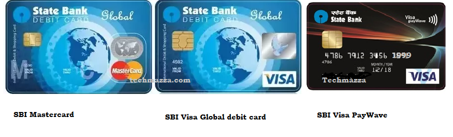 state bank of india global visa debit card