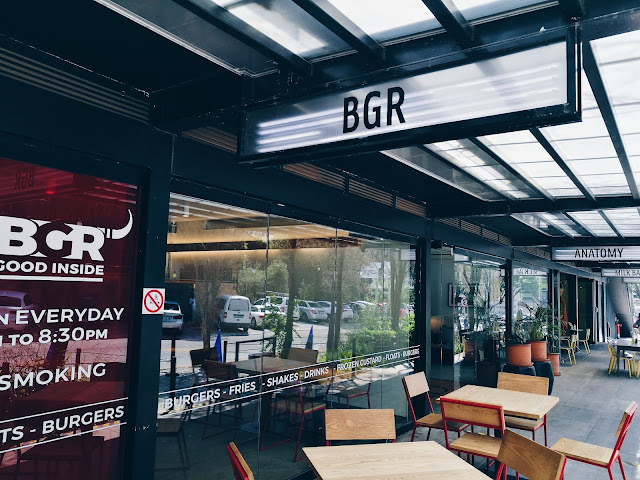 BGR rosebank, BGR restaurant review, johannesburg city guide