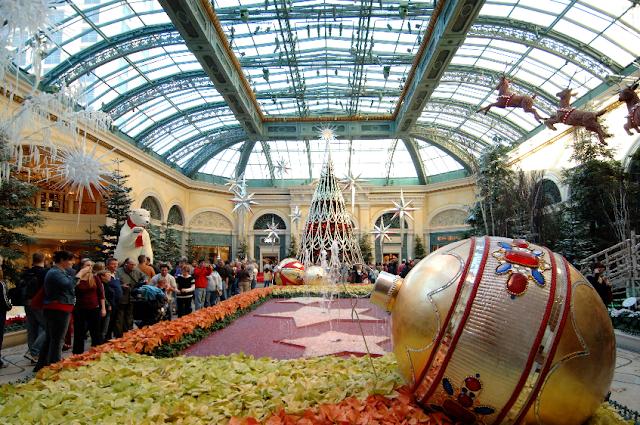 Informações sobre o jardim botânico do Hotel Bellagio em Las Vegas