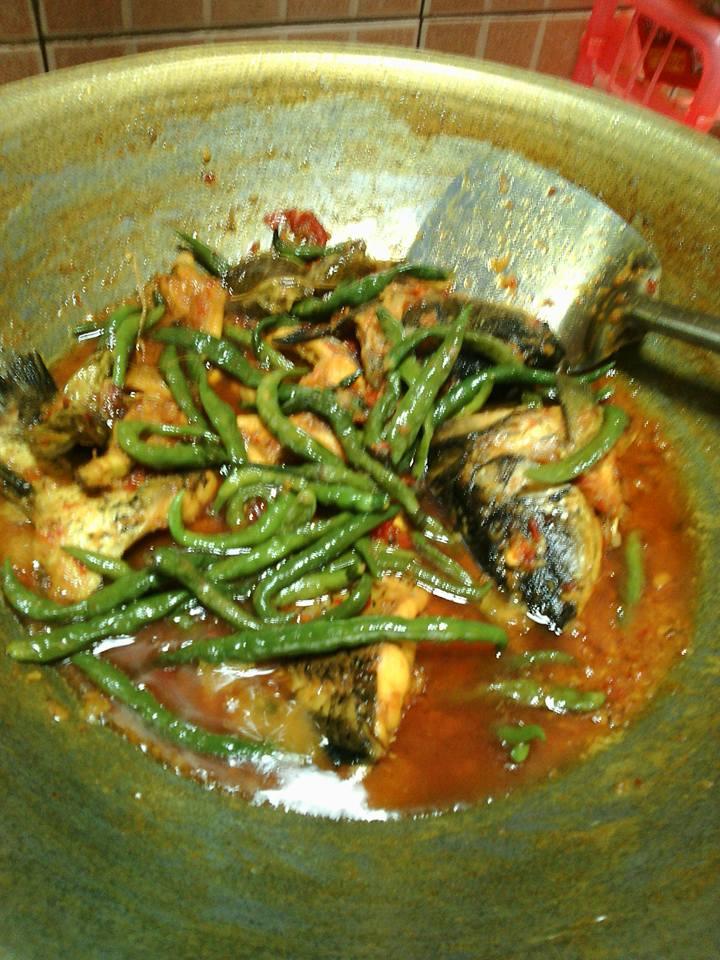 Resep Ikan Mas : resep, Resep, Membuat, Mercon, Sangat, Pedas