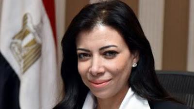داليا خورشيد وزيره الاستثمار الأسبق