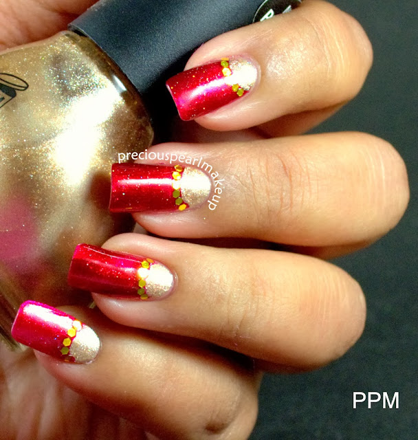 Preciouspearlmakeup: Indian Bridal Nail Art And Tutorial