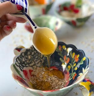 DIY: Exfoliante para el rostro. Avena y miel.