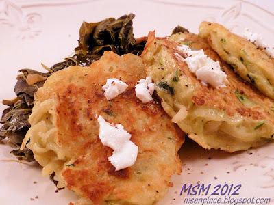Zucchini & Potato Pancakes
