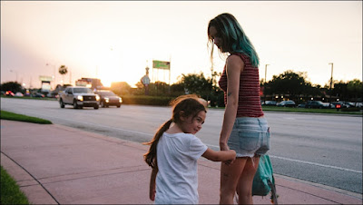 Madre e hija en 'The Florida Project'