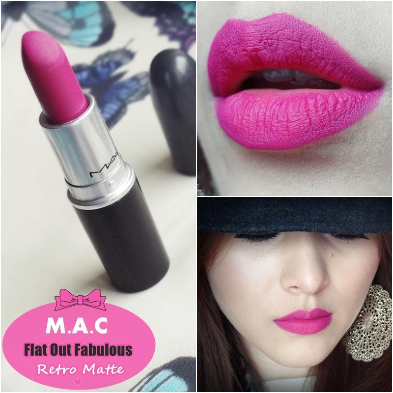 Famoso Indian Vanity Case: MAC Flat Out Fabulous Retro Matte Lipstick  MU82