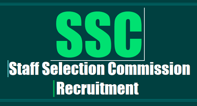 SSC Recruitment, SSC Scientific Assistant Posts,application form