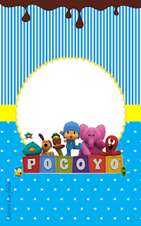 Etiquetas de Dulce Pocoyó para imprimir gratis.