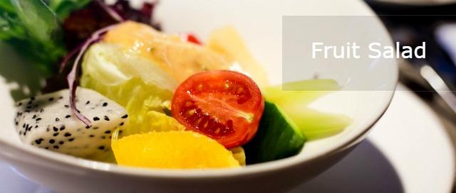 Nutritious Fruit Diet: 25 Healthy Fruit Salad Recipes