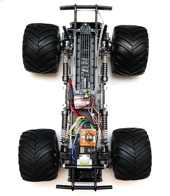 Tamiya TXT-1 build