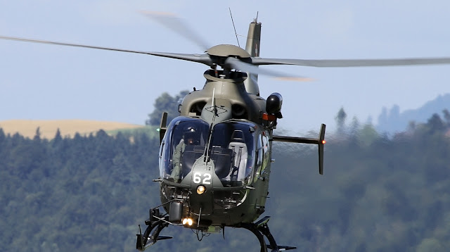 Eurocopter EC635 of Swiss Air Force