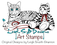 LeighSBDesigns Art Stamps website