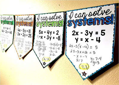 systems of equations math pennant