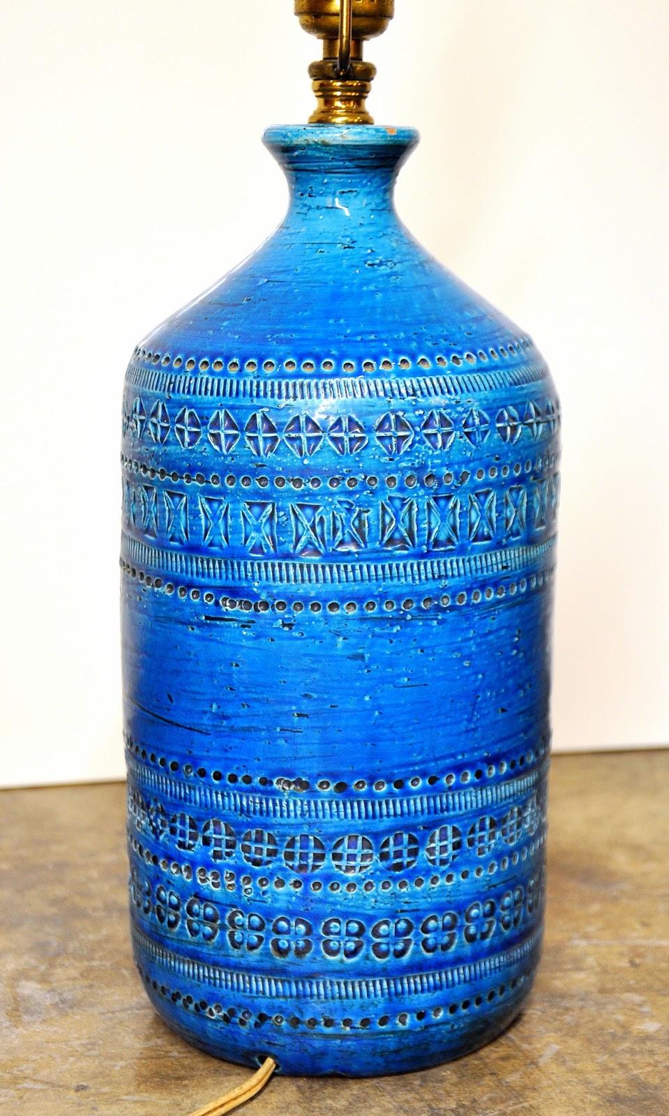 Select Modern Also Londi Rimini Blu Bitossi Table Lamp