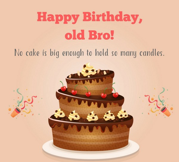 Birthday Best Wishes For Brother