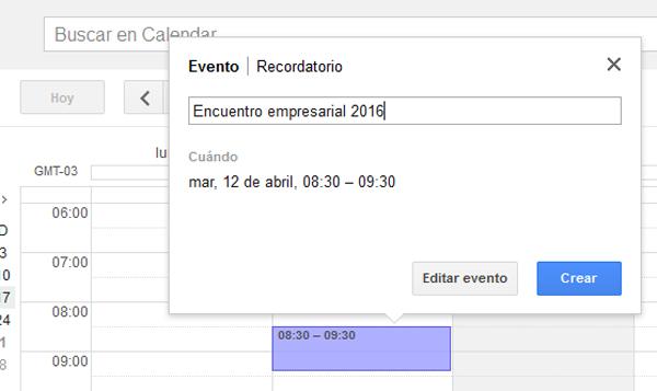 calendario gmail google calendar
