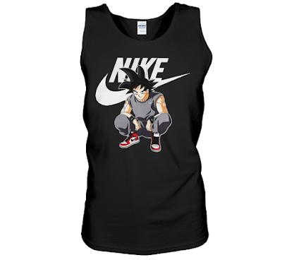 Goku Nike T Shirt Jacket Hoodie Sweater Sweatshirt