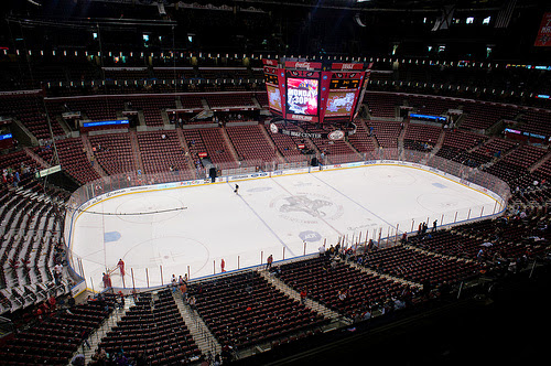 NHL's Panthers are getting poor attendance at games