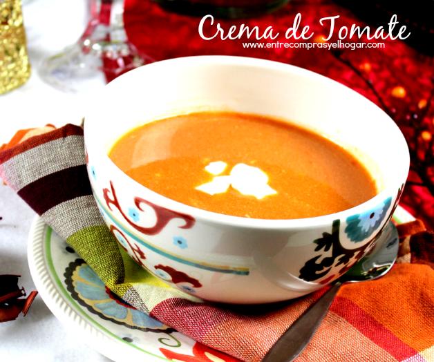 Receta Crema de Tomate