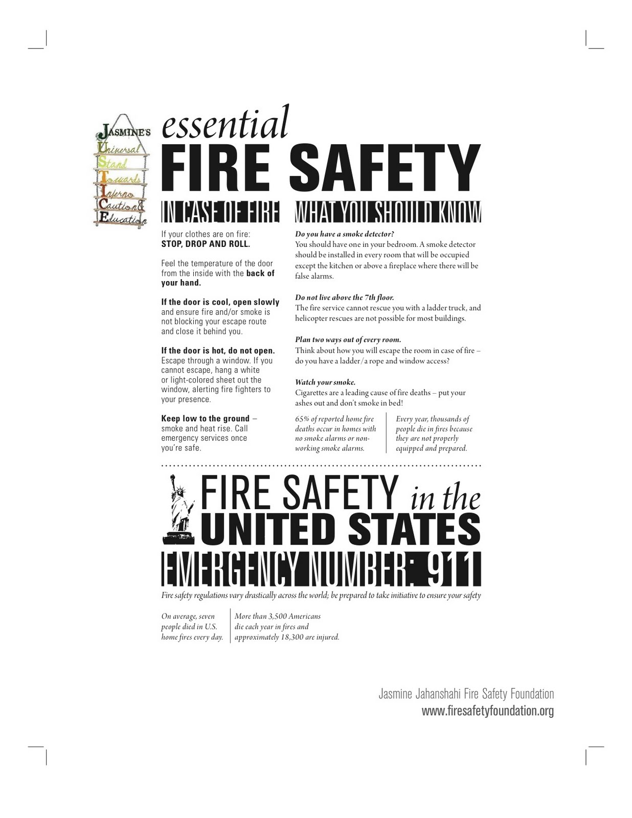 JUSTICE: Sharing Safety: September 2011